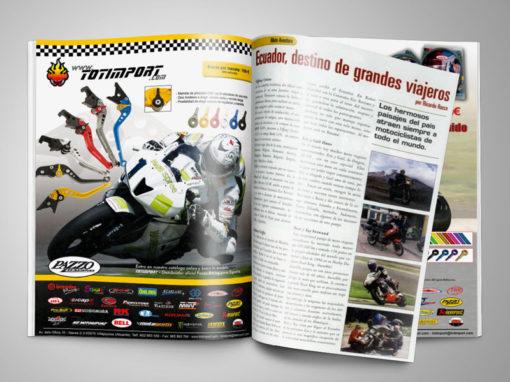 Publicidad en revista Motociclismo