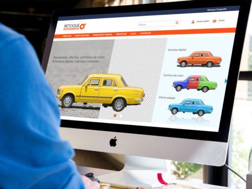 Diseño web retoque fotografía
