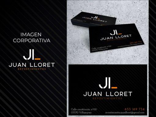 Imagen corporativa Revestimientos Juan Lloret