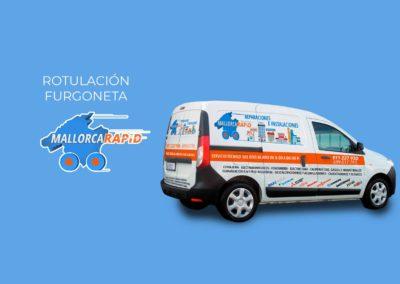 Rotulación furgoneta