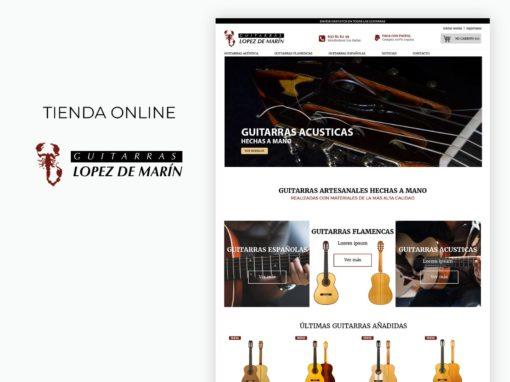 Tienda online guitarras