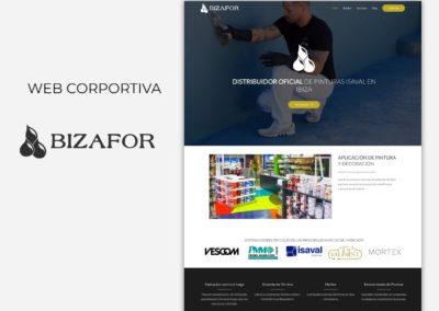 Web corporativa Bizafor