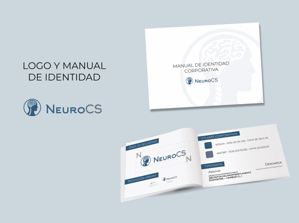 logo y manual identidad clinica