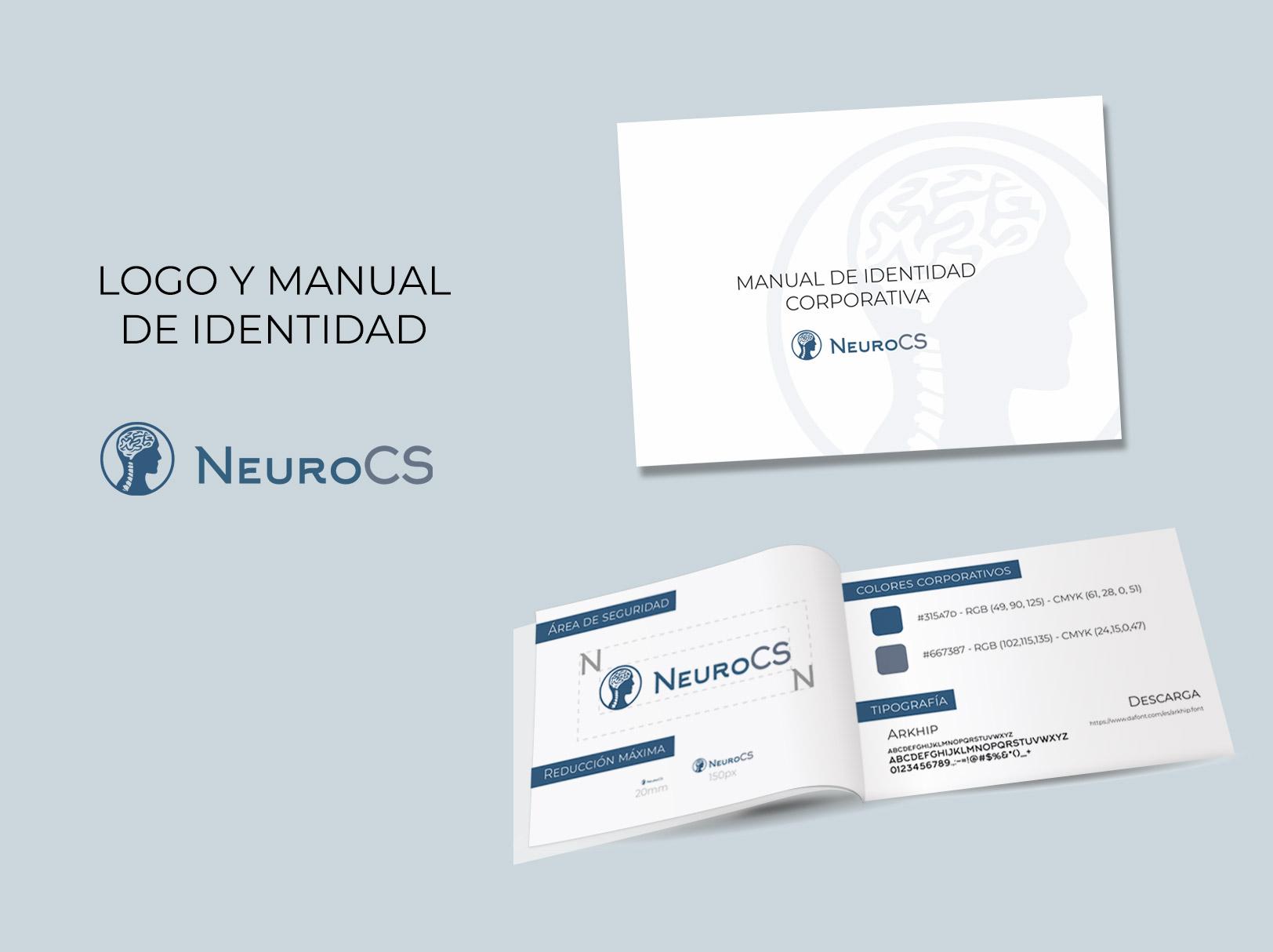 logo y manual identidad clinica